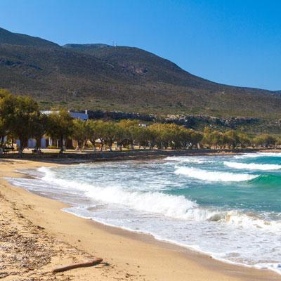 Der Strand von Diakofti