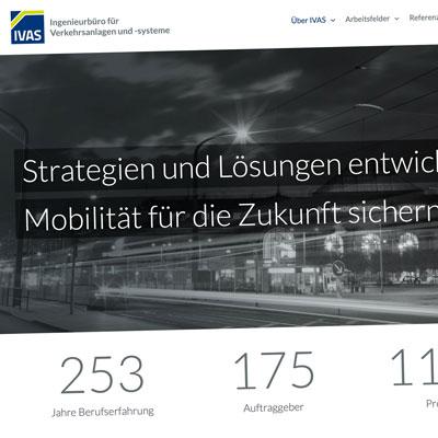 Neues Design für Webseite der IVAS