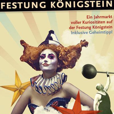 Selfmailer für die Weihnachtsfeiern auf der Festung Königstein
