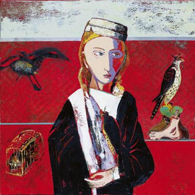 Selfmailer zur Ausstellung von C. Schlegel