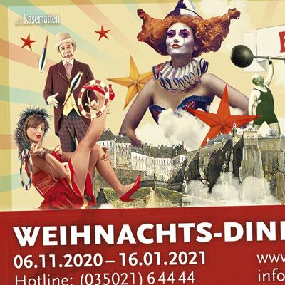 9m2-Großplakat für Events auf dem Königstein