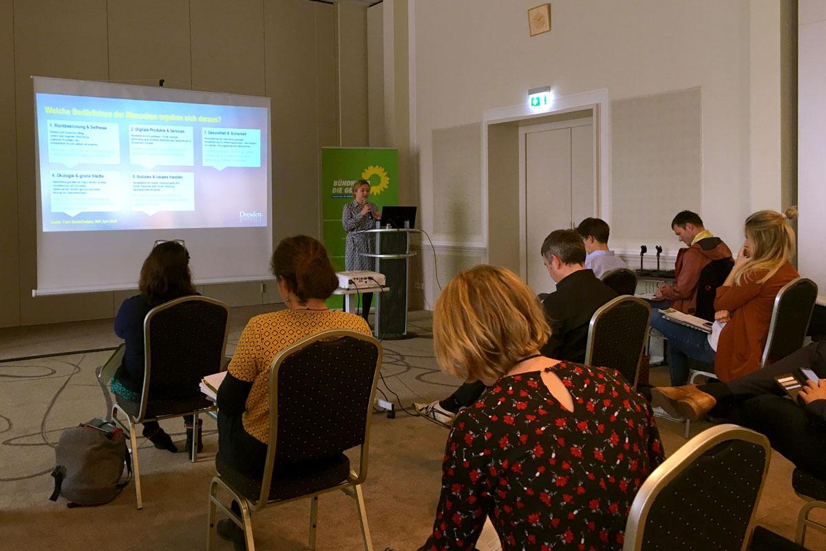 Symposium der Grünen-Stadtratsfraktion Dresden – Tourismus mit Zukunft