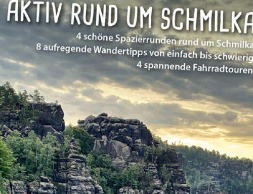 Faltblatt mit Karten rund um Schmilka