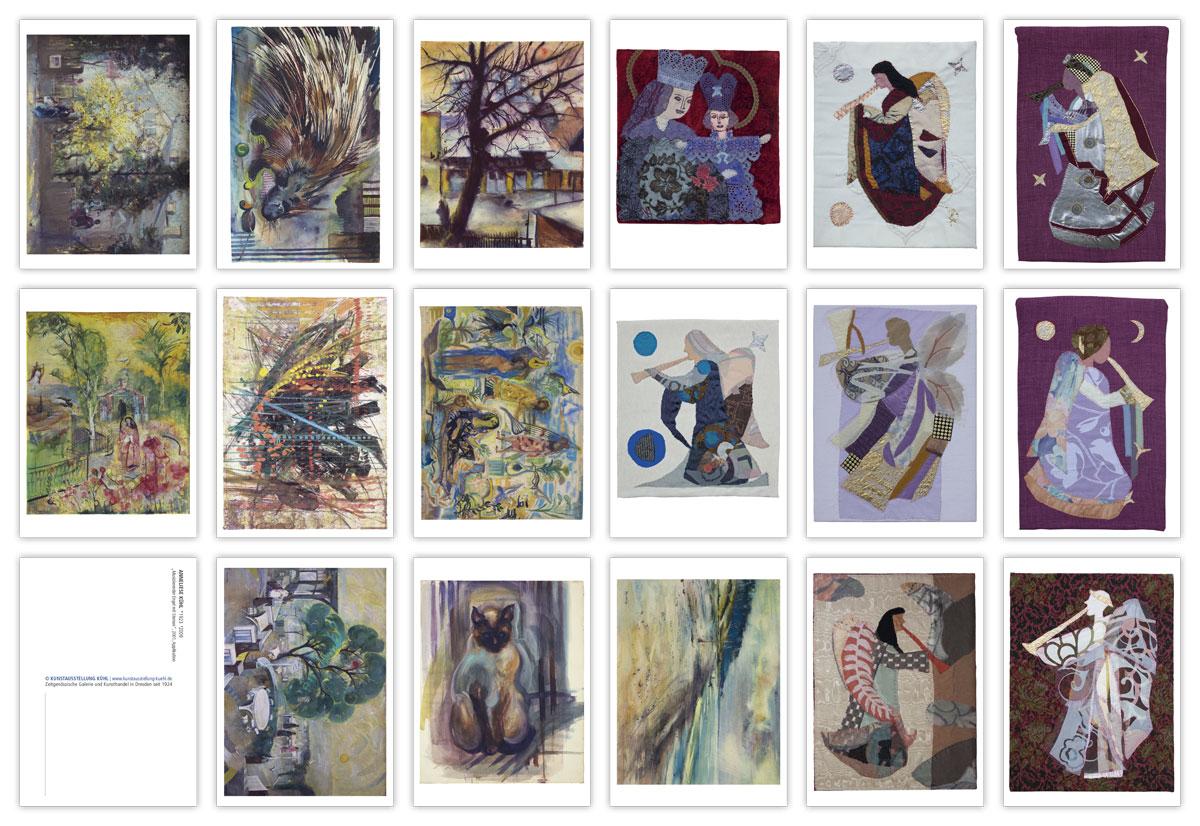 Postkartenset Anneliese Kühl und Johannes Kühl