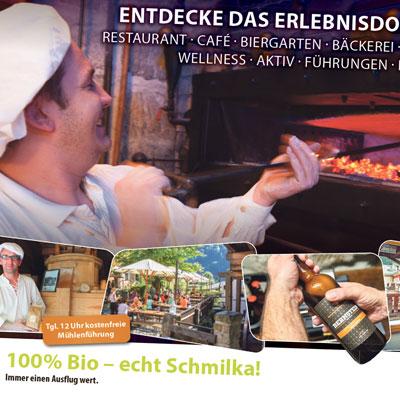 Advertorial im SandsteinKurier für das Biodorf Schmilka