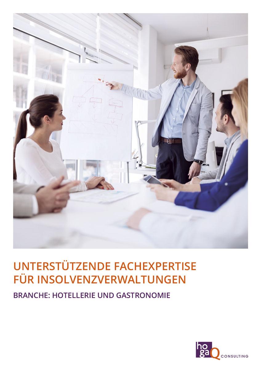 Gestaltung einer Broschüre für hogaQ Consulting