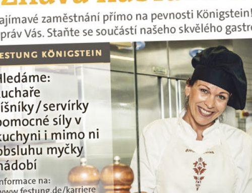 Anzeigen für Jobs auch in Tschechien