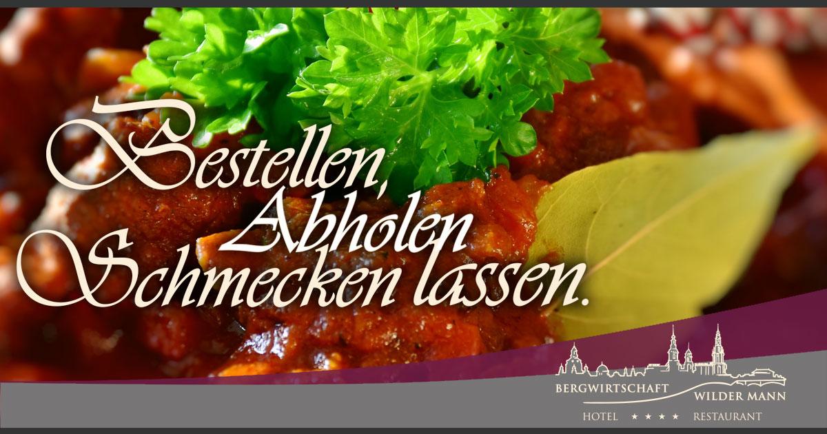 Facebook-Post für die Bergwirtschaft Wilder Mann in Dresden