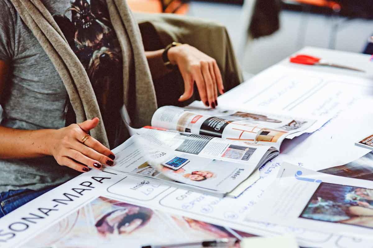 Kataloggestaltung und Katalogproduktion