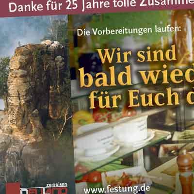 Gemeinschaftsanzeige zum Jubiläum der Sächsischen Zeitung