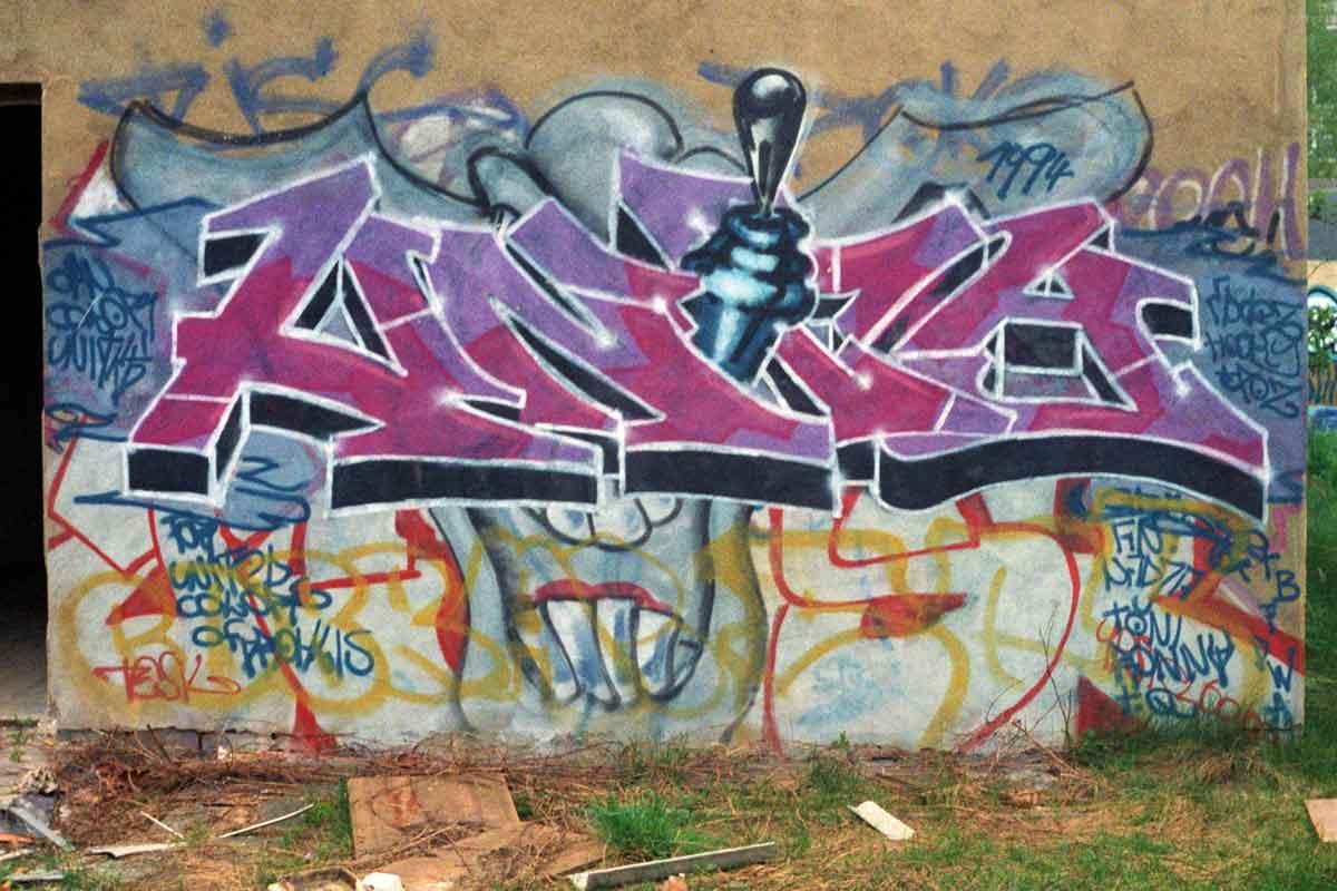 Graffiti in Dresden